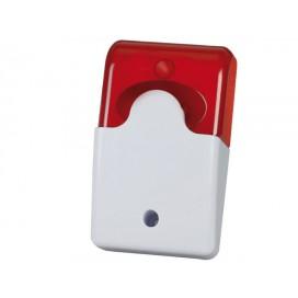 Mini-Alarme auto alimentée avec Sirène et Flash pour caméra IP