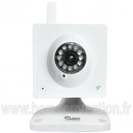 Caméra WiFi fixe blanche