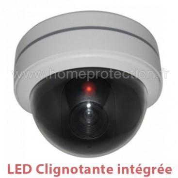 Caméra dôme factice avec LED rouge clignotante qualité supérieure