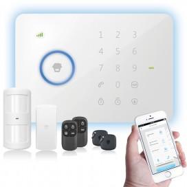Kit alarme HP-G5 tactile sans fil GSM compatible smartphone
