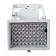 Projecteur 54 LEDs infrarouge vision nocturne 50m