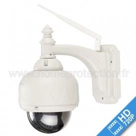 Caméra IP CAM360HD 720p Dôme extérieur motorisé WiFi zoom optique