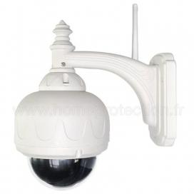 Caméra IP CAM360Lite extérieure dôme motorisée WiFi