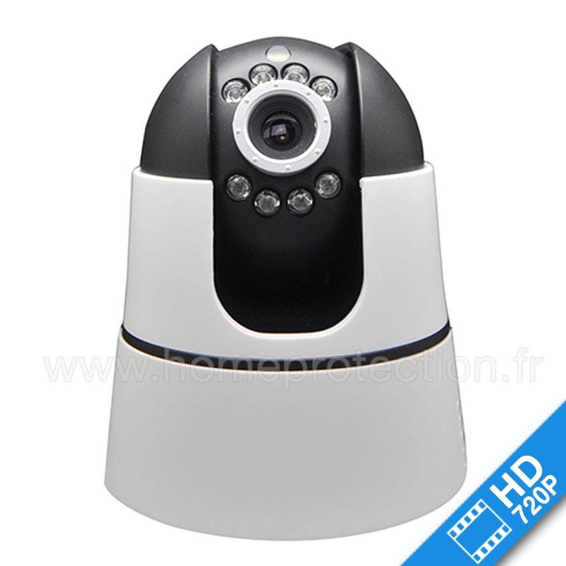 Cam ra ip cam410hd wifi motoris e - Camera wifi interieur ...