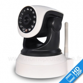 Caméra IP CAM600 WiFi HD 720p motorisée