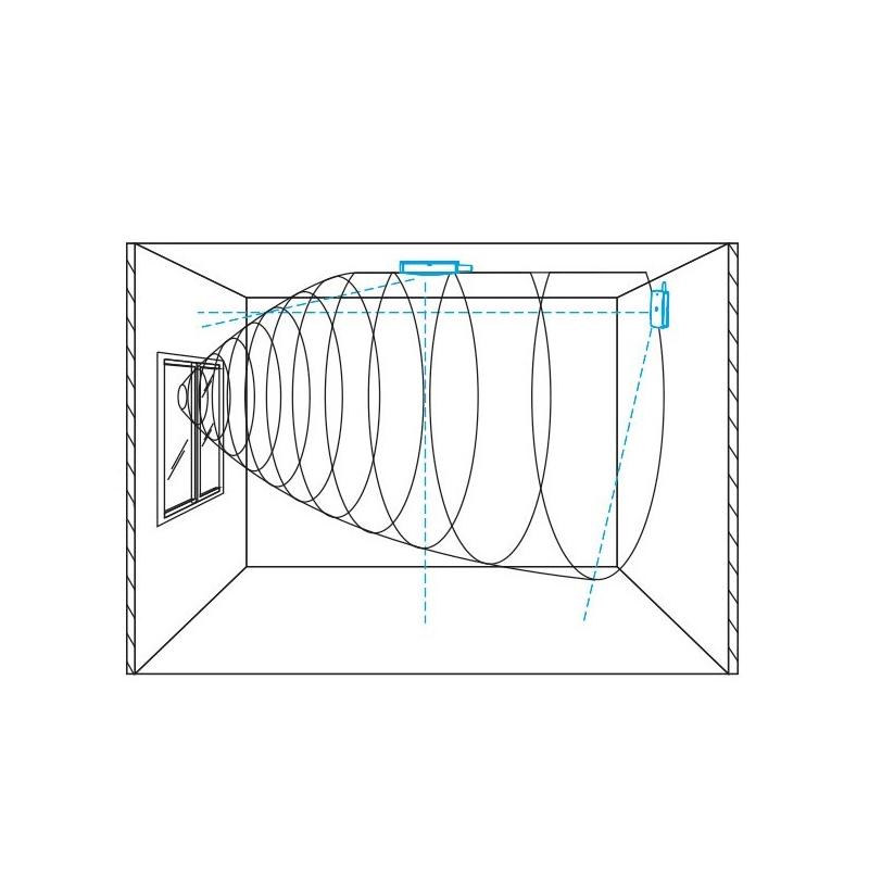 d tecteur de bris de vitre chuango gt 126. Black Bedroom Furniture Sets. Home Design Ideas