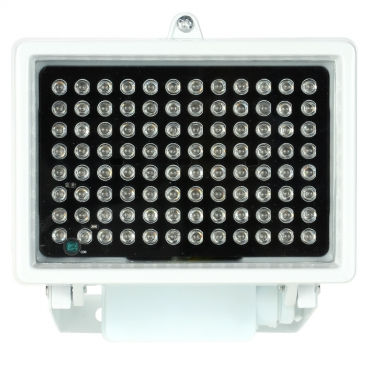 Projecteur 96 LEDs infrarouge blanc vision nocturne 80m