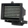Projecteur 96 LEDs infrarouge noir vision nocturne 80m