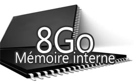 Mémoire interne 8Go