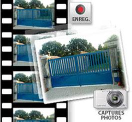 Enregistrement vidéo et capture de photos