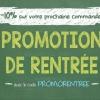 Promotion de rentrée 2017
